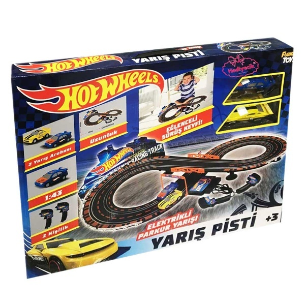 Hot Wheels Elektrikli Yarış Pisti