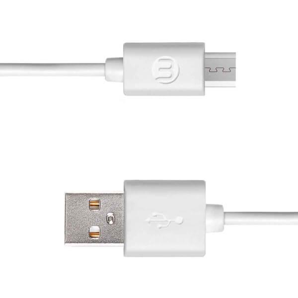 Mojue Micro USB Kablosu Beyaz