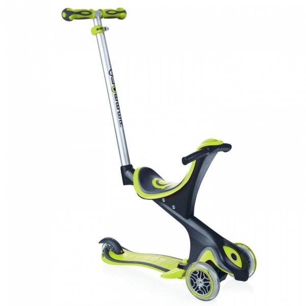 Evo 5in1 3 Tekerlekli Yeşil Scooter
