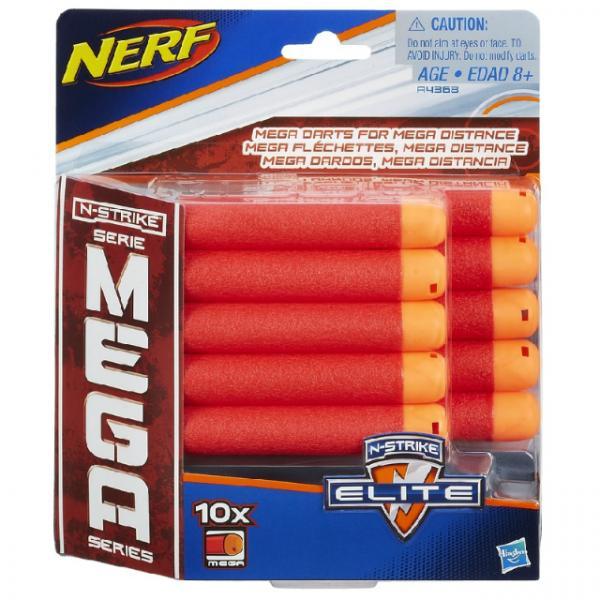 Nerf  N-Strike Mega Dart 10'lu Yedek Paket