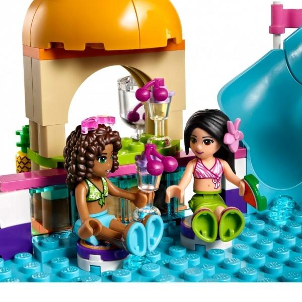 LEGO Friends Heartlake Yaz Havuzu 41313