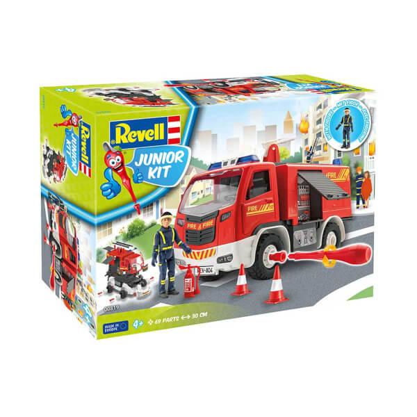 Revell 1:20 Figürlü İtfaiye Aracı Çocuk Kiti 00819
