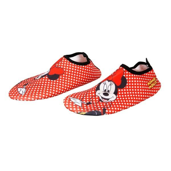 Minnie Deniz ve Havuz Ayakkabısı Kırmızı