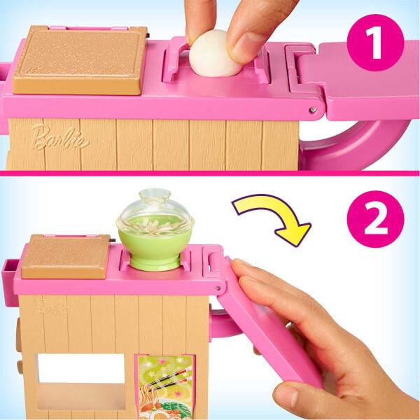Barbie Noodle Yapıyor Oyun Seti GHK43