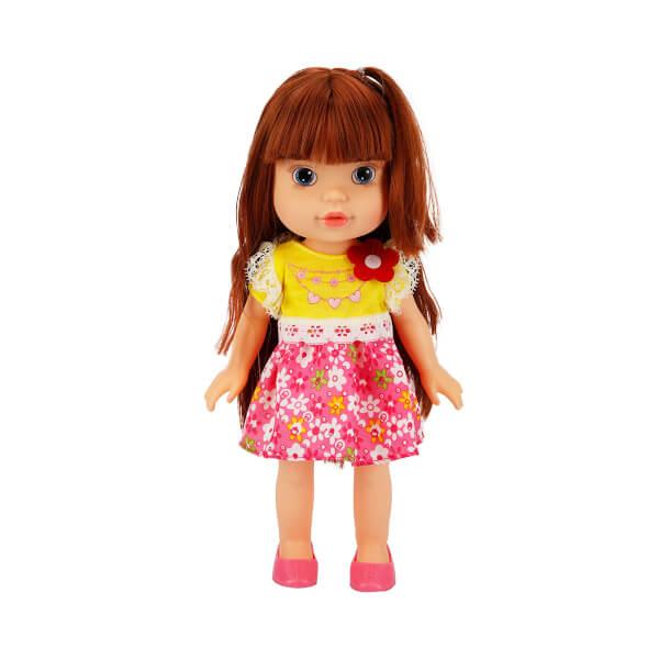 Alyss Günlük Elbiseli Bebek 33 cm.