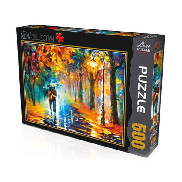 500 Parça Puzzle : Sonbaharda Aşk