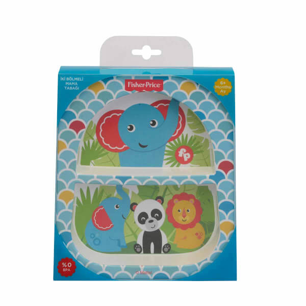 Fisher Price Bölmeli Mama Tabağı Jungle
