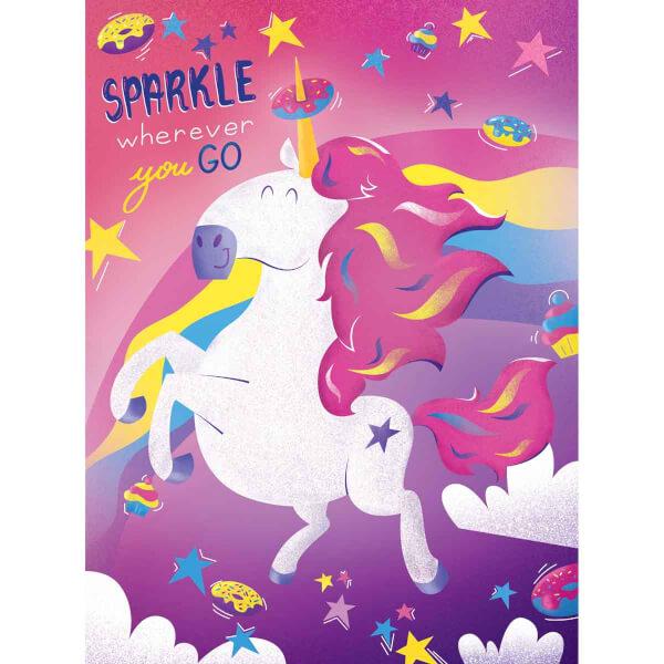 500 Parça Puzzle : Fantastic Animals Unicorn