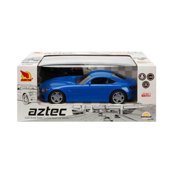 1:20 Uzaktan Kumandalı Aztec Spor Araba 20 cm.