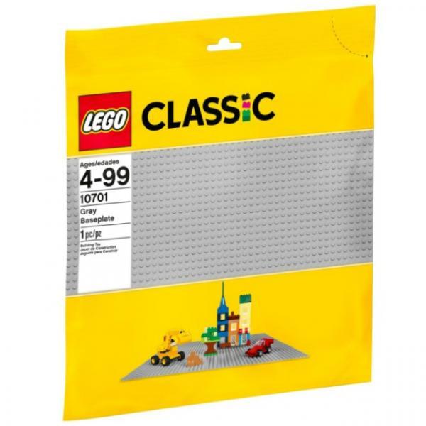 LEGO Classic Gri Zemin 10701