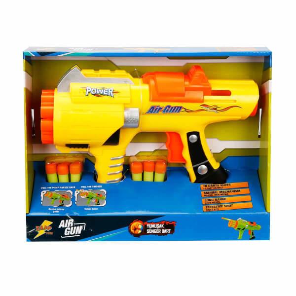 Air Gun Sünger Dart Atan Tabanca