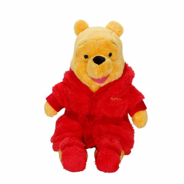Winnie The Pooh Bornozlu Peluş 30 cm.