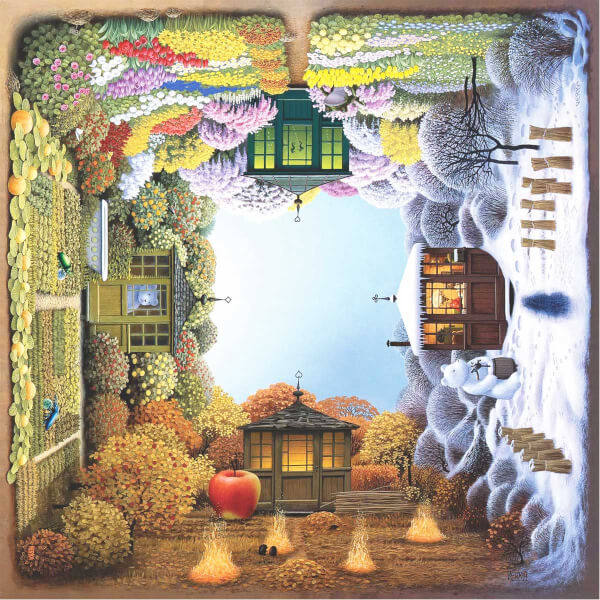1024 Parça Puzzle : Dört Mevsim