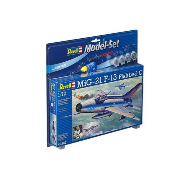 Revell 1:72 Mig-21 F-13 Fishbed Model Set Uçak