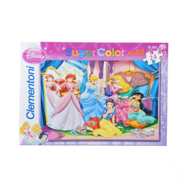 24 Parça Maxi Puzzle : Princess Shining Jewels