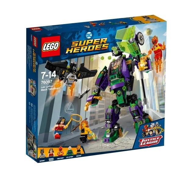 LEGO DC Comics Super Heroes Lex Luthor Robotu Karşılaşması 76097