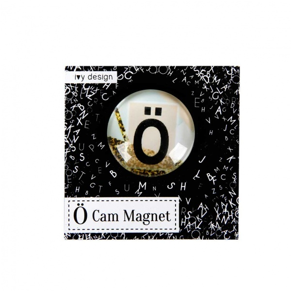 Ö Harfi Cam Magnet