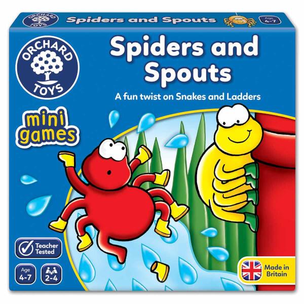 Sevimli Örümcek Sayı Sayma Oyunu