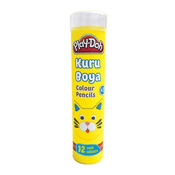 Play Doh Kuru Boya 12 Renk Tüplü