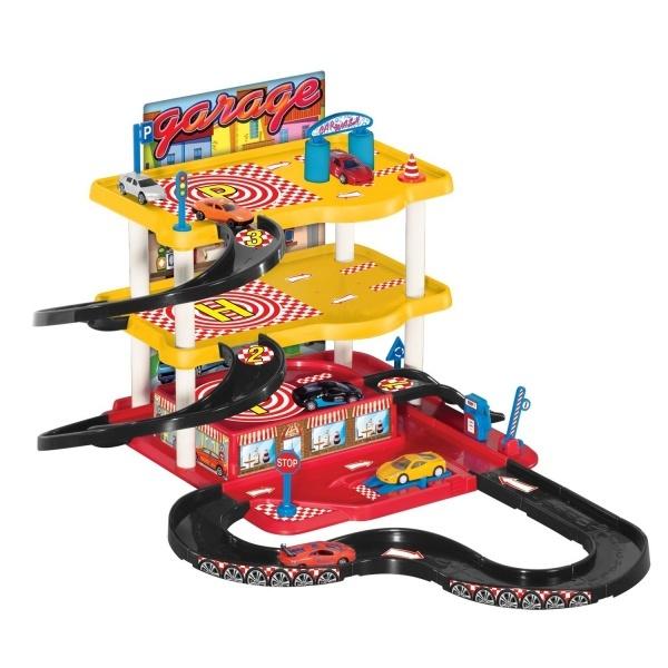 3 Katlı Garaj Oyun Seti