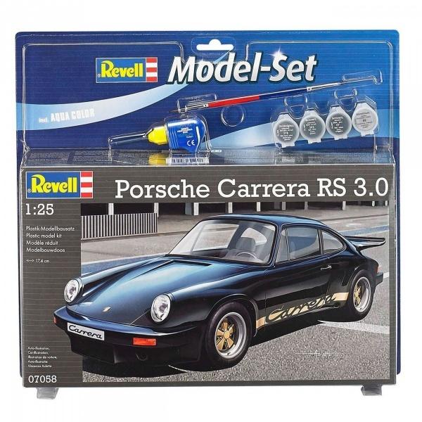 Revell 1:25 Porsche Carrera RS Model Set Araba