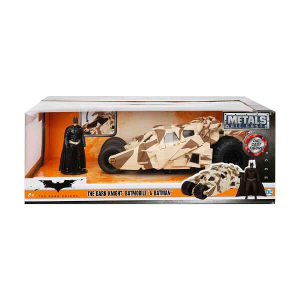 1:24 Batman The Dark Knight Batmobile Araba Ve Batman Figür