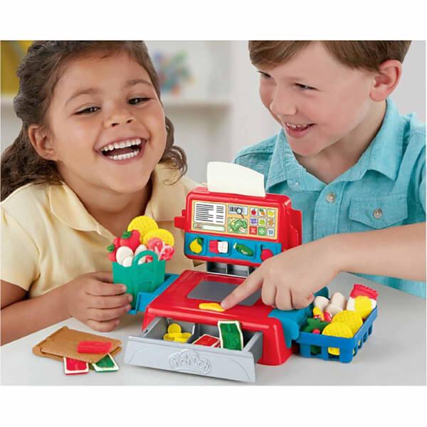 Play Doh Market Kasası Oyun Seti E6890