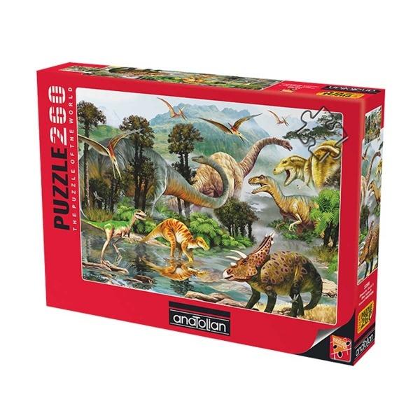 260 Parça Puzzle : Dinazorlar Vadisi 2