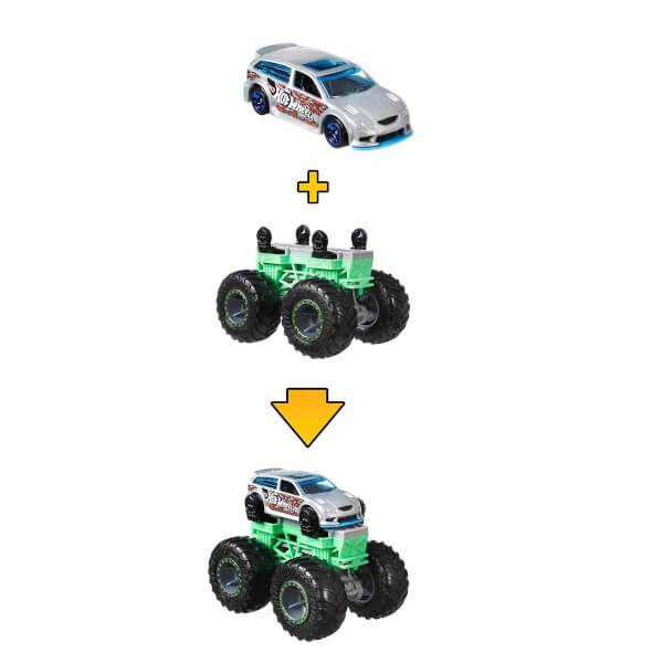 Hot Wheels Monster Trucks Dev Tekerlek Ustası Araçlar GWW13