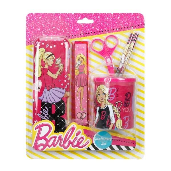 Barbie 6'lı Kırtasiye Seti