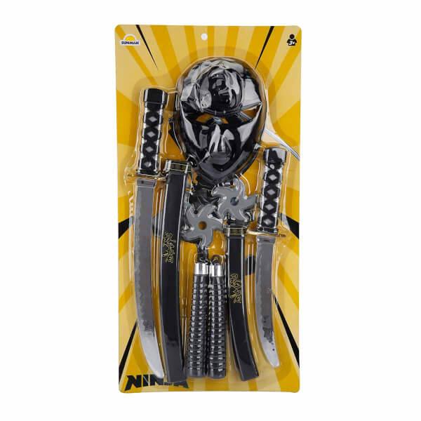 Ninja Maske ve Kılıç Seti