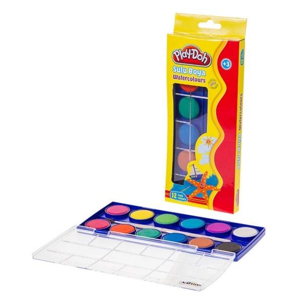 Play Doh Sulu Boya Büyük 12 Renk