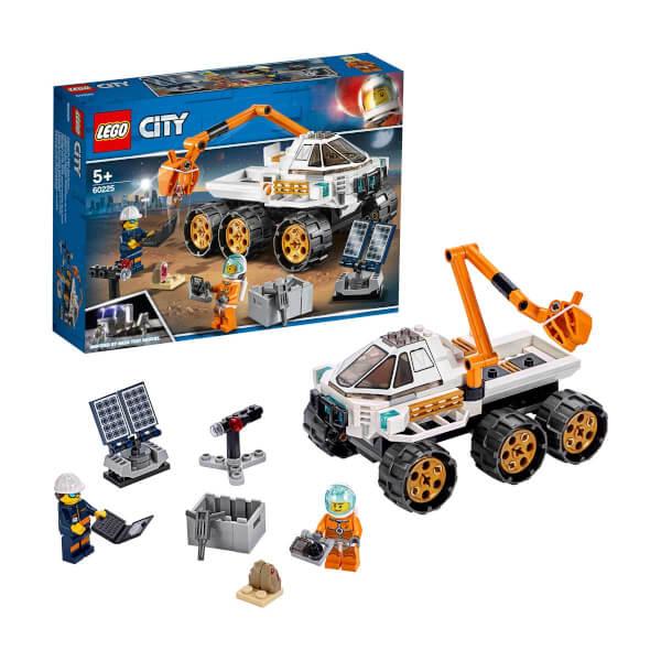 LEGO City Space Port Keşif Robotu Test Sürüşü 60225