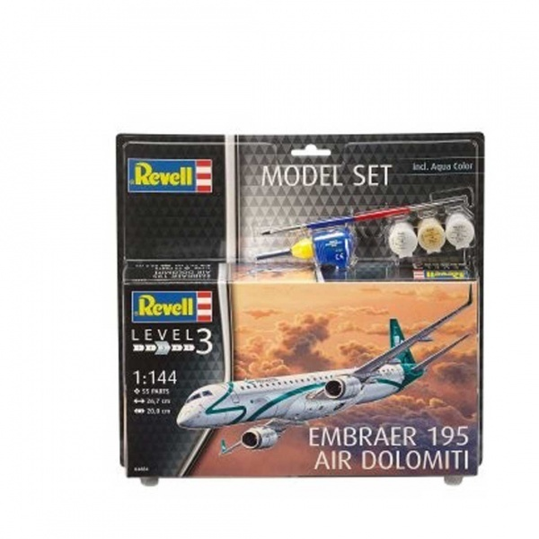 Revell 1:144 Embraer Model Set Uçak