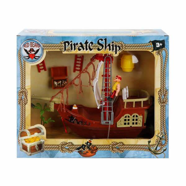 Korsan Oyun Seti Beyaz Yelkenli