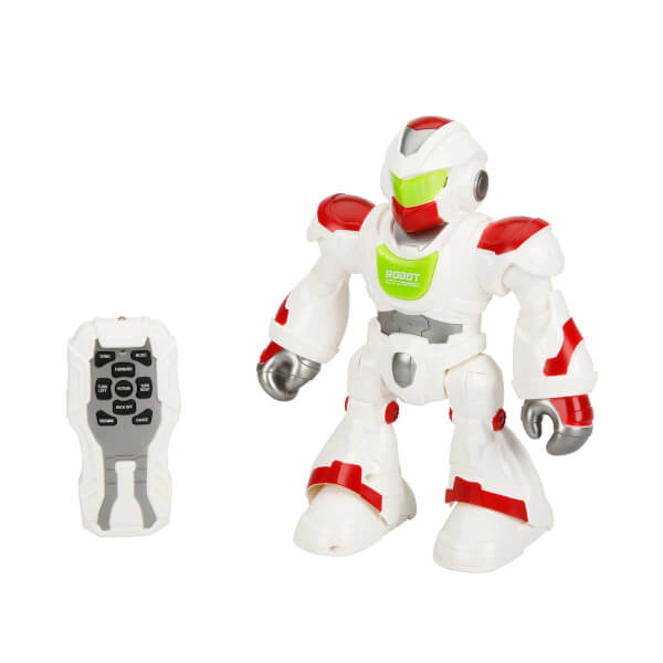 Dans Eden Sesli ve Işıklı Robot 20 cm.