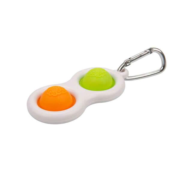 Push Pop Bubble Pop It Duyusal Oyuncak Özel Pop Stres Anahtarlık 2'li