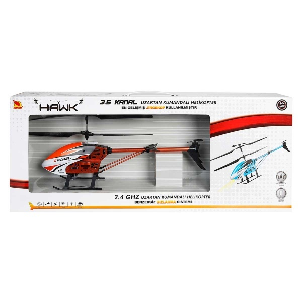 Uzaktan Kumandalı Hawk Helikopter 3,5 Kanal 45 cm.