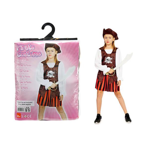 Korsan Kız Kostüm M Beden