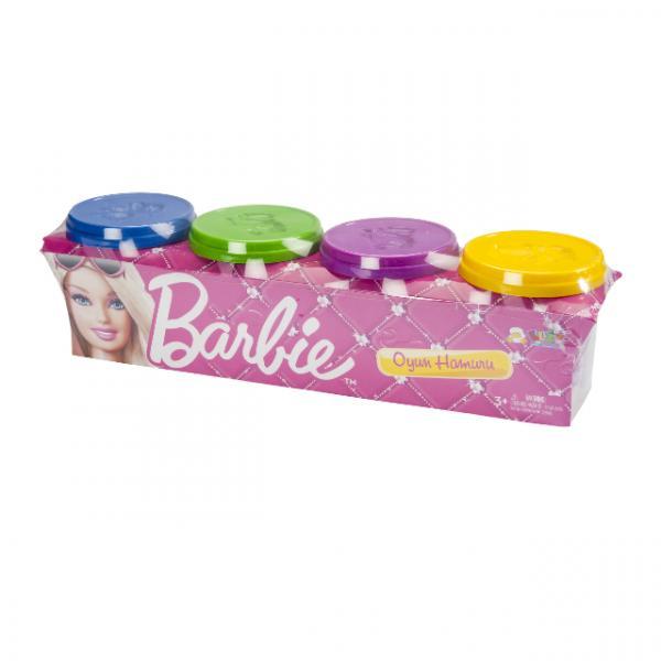 Barbie Dörtlü Oyun Hamuru