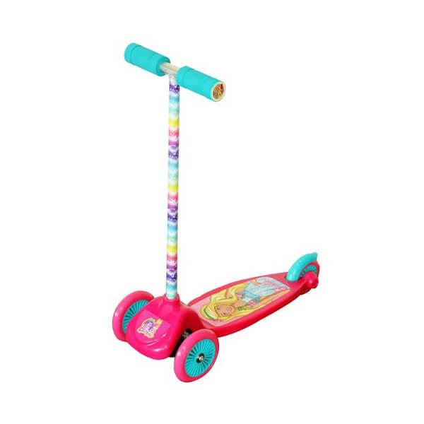 Barbie 3 Tekerlekli Twist Scooter