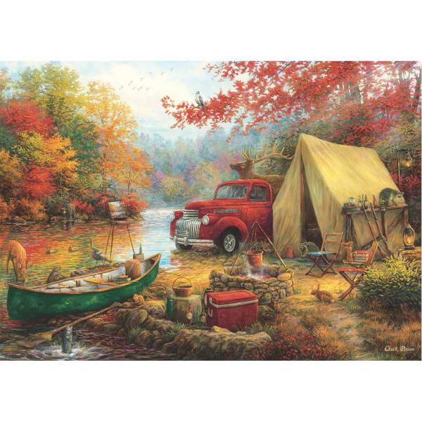 1500 Parça Puzzle :  Kamp Arkadaşları
