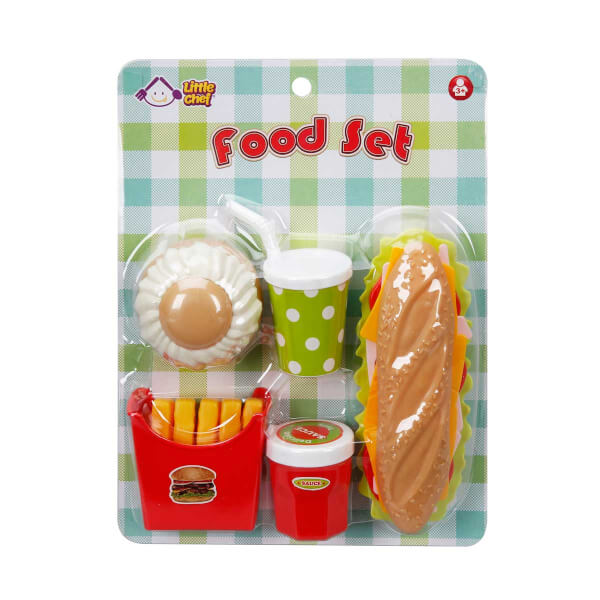 Fast Food Yiyecek Oyun Seti