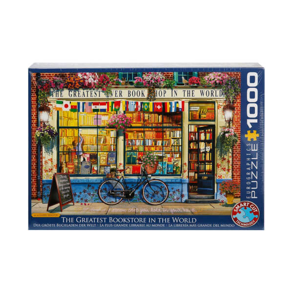 1000 Parça Puzzle : The Greatest Bookstore In The World