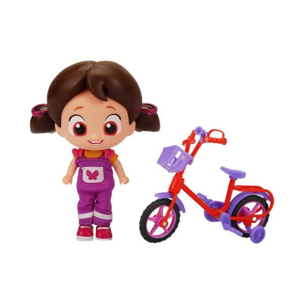 Niloya Bisikletli Figür 12 cm.
