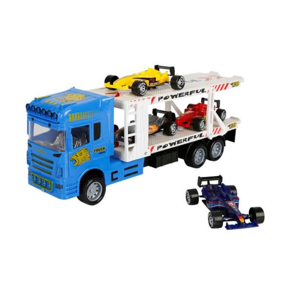 1:32 Maxx Wheels 2 Katlı Transporter Tır 32 cm.