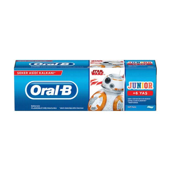 Oral-B Star Wars Florürlü Çocuk Diş Macunu 75 Ml.