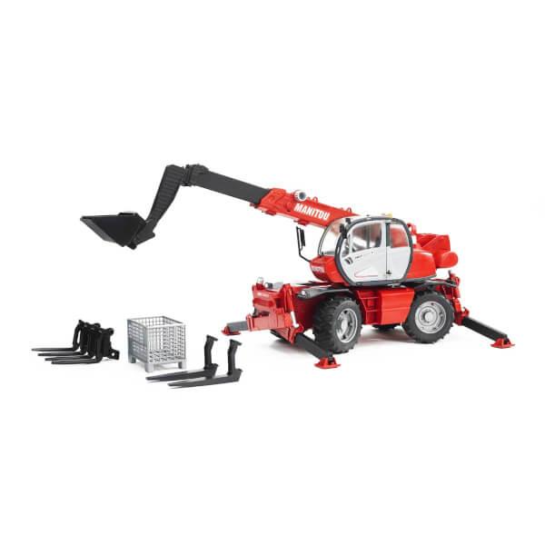 1:16 Bruder Manitou MRT 2150 Teleskopik Forklift