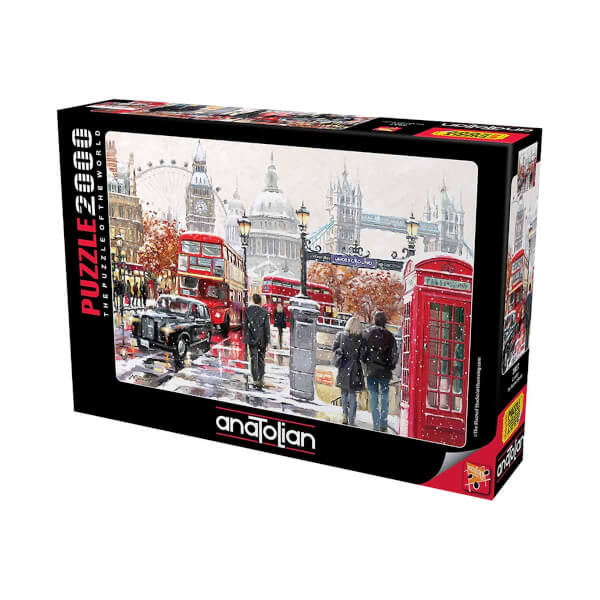 2000 Parça Puzzle : London