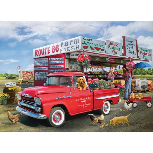 1000 Parça Puzzle : Chevrolet The Apache Truck